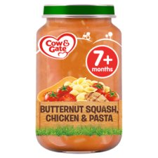 Cow & Gate Butternut Squash Chicken And Pasta 7Mth+ 200G