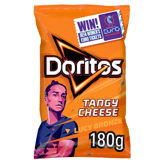 image 1 of Doritos Tangy Cheese Tortilla Chips 180 G