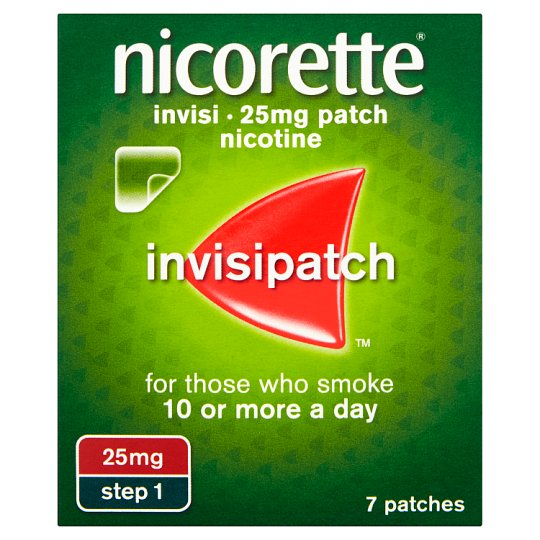 Nicorette Invisible Patch Step 1 25Mg 7S