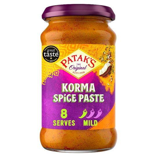 Pataks Korma Curry Paste 290G