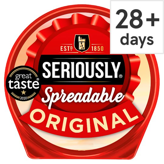 Seriously Strong Cheddar Cheese Spread 125 G