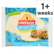 Mission Deli Original Mini Wraps 6 Pack