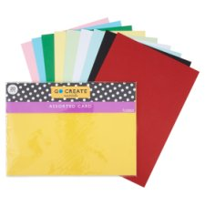 Tesco Go Create Mixed Card Bumper Pack 20 Sheets