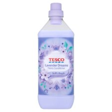 Tesco Fabric Conditioner Lavender Dreams 1.26L 42Washes