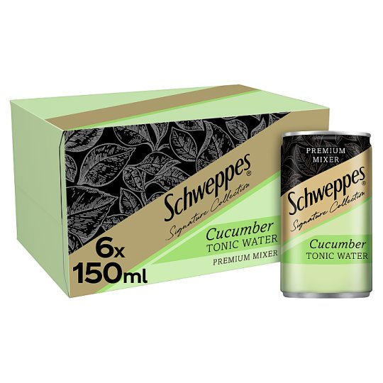 image 1 of Schweppes 1783 Cucumber Tonic Water 6X150ml