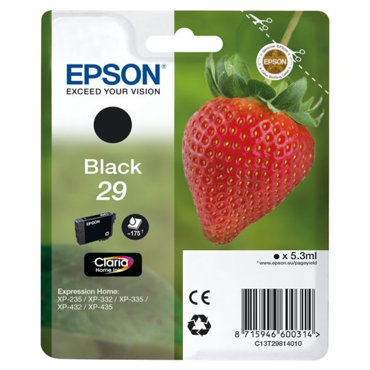 Epson 29 Strawberry Black