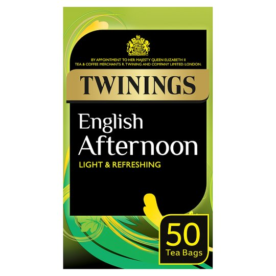 Twinings Traditional Afternoon 50 Teabags 125G