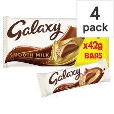 Galaxy Chocolate Multipack 4 X42g