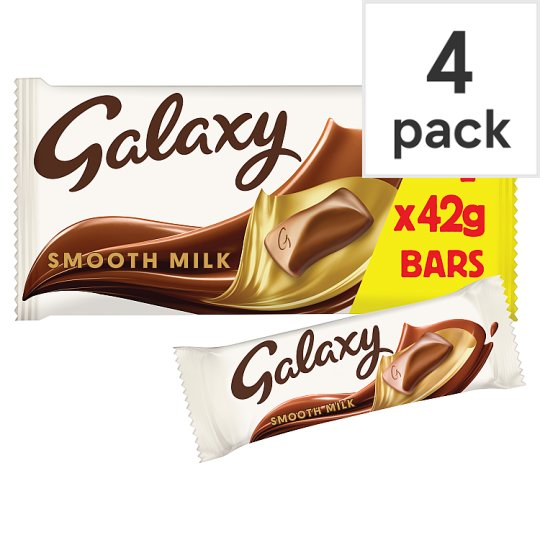 image 1 of Galaxy Chocolate Multipack 4 X42g