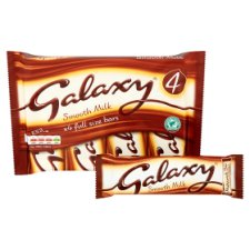image 2 of Galaxy Chocolate Multipack 4 X42g