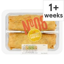 Tesco Takeaway Vegetable Spring Rolls 240G