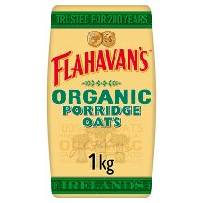 Flahavans Irish Organic Porridge 1Kg