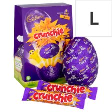 Cadbury Crunchie Chocolate Egg 258G