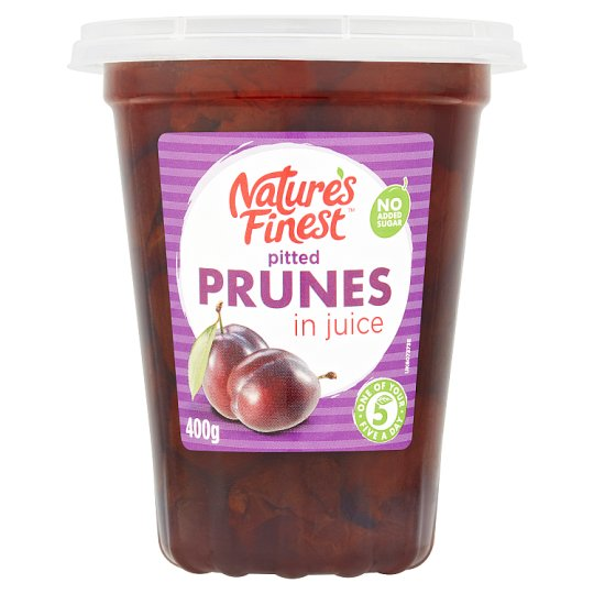 Nature's Finest Pitted Prunes In Juice 400G