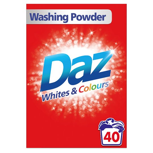 Daz Washing Powder 40 Washes 2.6Kg