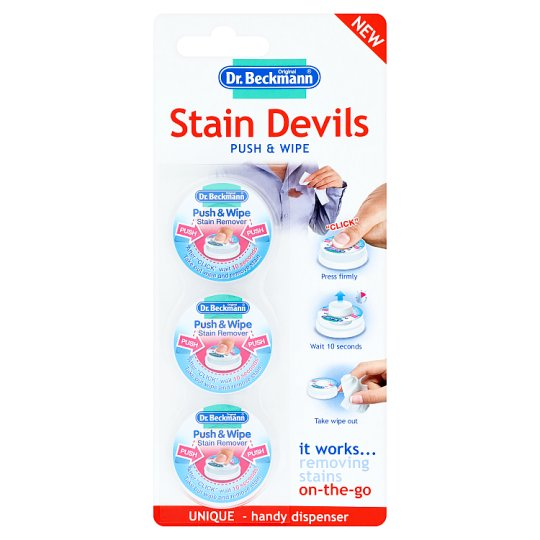 Dr Beckmann Push And Wipe Stain Remover 3 Pack
