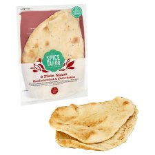 image 2 of The Spice Tailor Flame Baked Plain Naans 2 Pack 220G