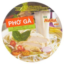 Mama Rice Noodles Chicken Flavour 65G