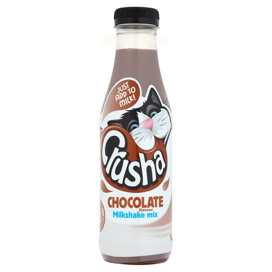 Crusha Chocolate Milkshake Mix 500Ml 20Servings