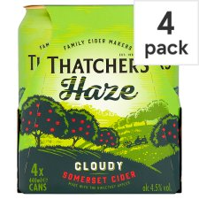 Thatchers Haze Cider 4X440ml Can