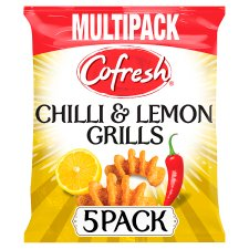 Cofresh Chilli And Lemon Grills Multipack 5X20g