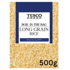 Tesco Easy Cook Boil In Bag Rice 500G