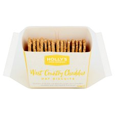 Counter Holly's Food Emporium Cheddar Oat Biscuits 144G