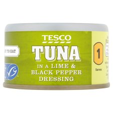 Tesco Tuna Lime And Black Pepper Dressing 80G