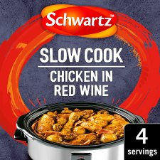 Schwartz Slow Cookers Chicken In Red Wine 35G