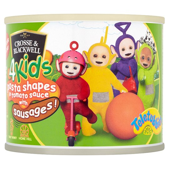 Crosse And Blackwell 4Kids Pasta Shapes With Sausages 213G