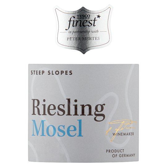 Tesco Finest Steillage Mosel Riesling 75Cl