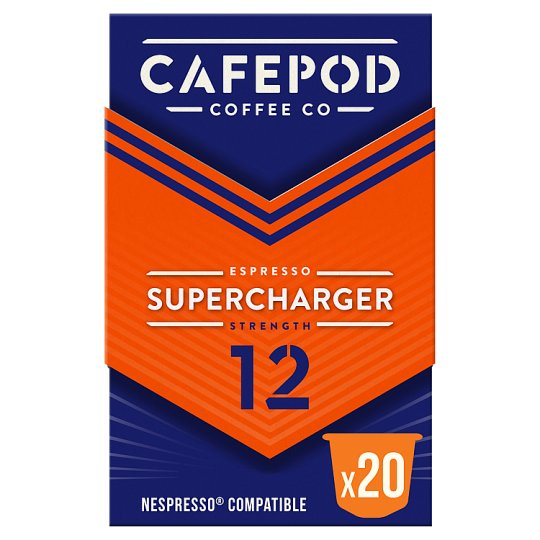 Cafepod Supercharger 20 Pack 110G