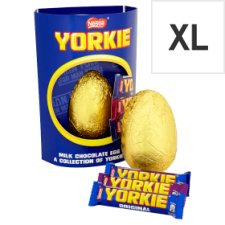 Nestle Yorkie Milk Chocolate Easter Egg And Chocolate 336G