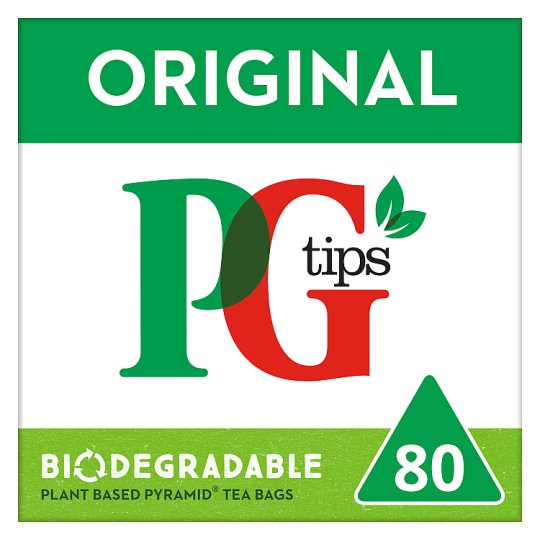image 1 of Pg Tips Pyramid 80 Tea Bags 232G
