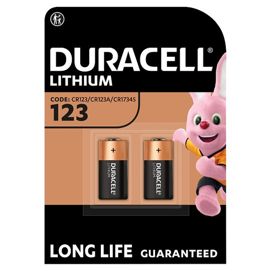 Duracell Speciality 123 2 Pack