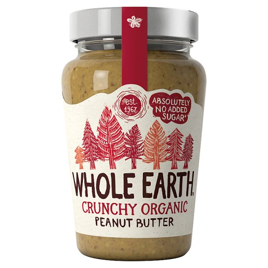 Whole Earth Organic Crunchy Peanut Butter 340G