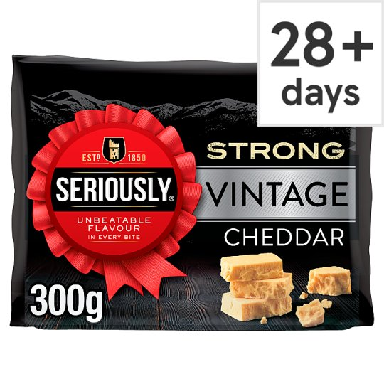 Seriously Strong Vintage Cheddar 300G