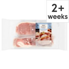 Tesco Unsmoked Back Bacon Rashers 4 X 180G