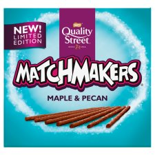 Quality Street Matchmakers Maple & Pecan 120G