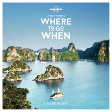 Lonely Planet Where To Go When 2019 Calendar
