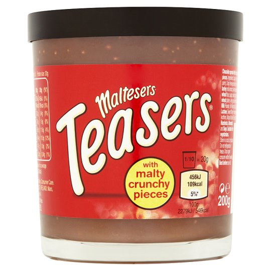 Maltesers Teasers Chocolate Spread 200G