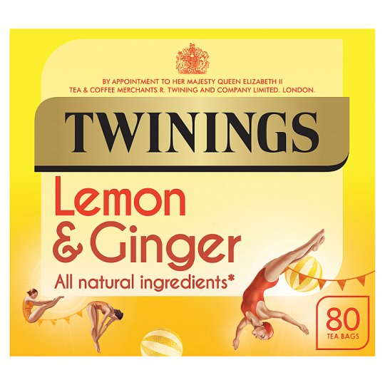 Twinings Lemon And Ginger 80S 120G
