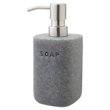Tesco Grey Stone Soap Dispenser