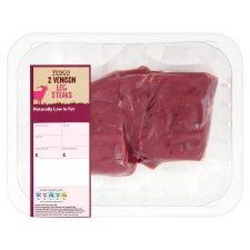 Tesco Venison Leg Steaks 250G
