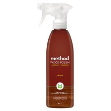 Method Wood Polish Spray Almond 354Ml