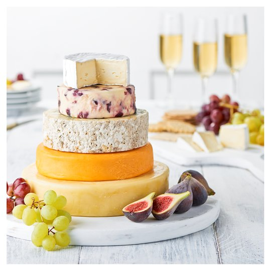 Tesco Cheese Wedding Cake