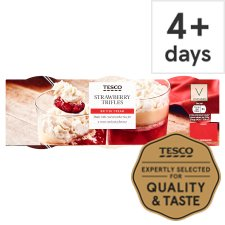 Tesco Strawberry Trifles 405G (3X135g)