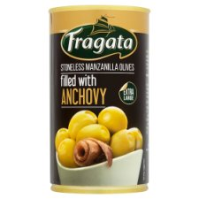 Fragataselection Anchovy Stuffed Olives 350G
