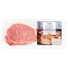 Tesco Unsmoked Back Bacon Rashers 300G