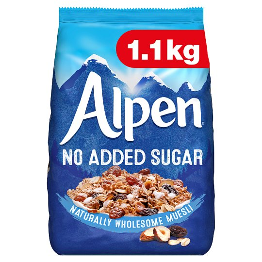 Alpen No Added Sugar 1.1Kg
